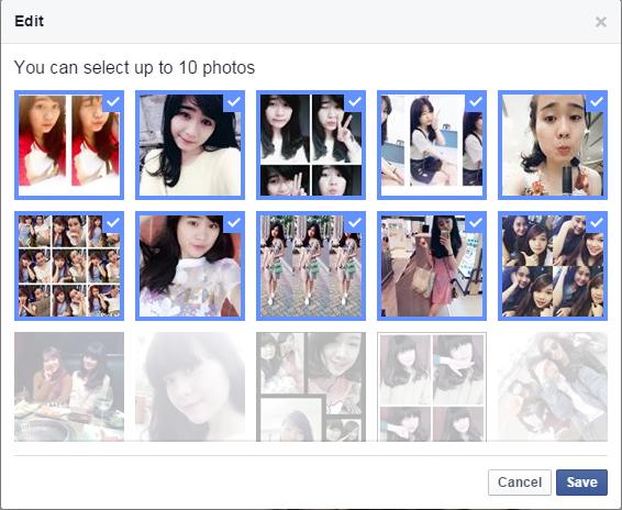 Facebook cho phép chỉnh sửa lại khoảng khắc Year In Review 2015
