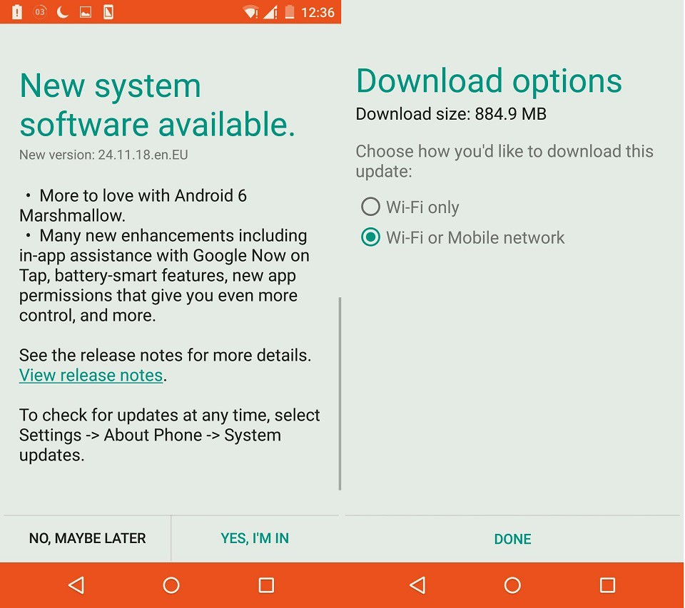 Moto X update Android 6.0