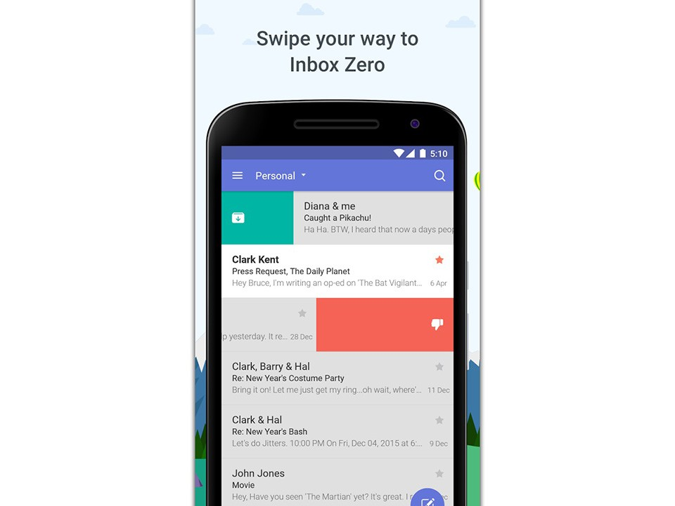 5 ứng dụng e-mail tuyệt vời cho Android hoặc iOS