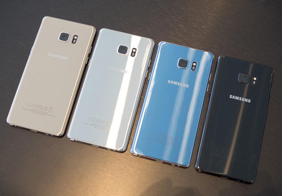 Samsung ra mắt Samsung Cloud trên Galaxy Note 7, sẽ có 15GB miễn phí