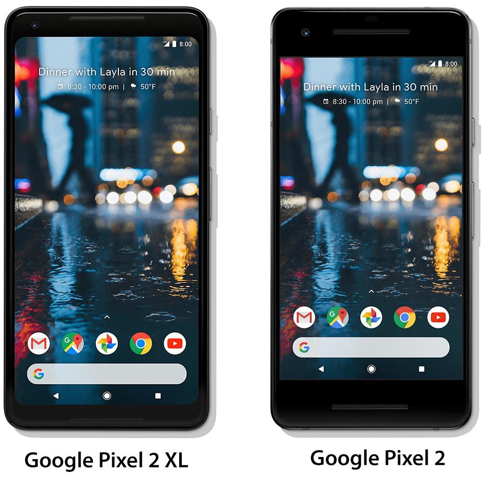 Google Pixel 2 và Google Pixel 2 XL chính thức ra mắt