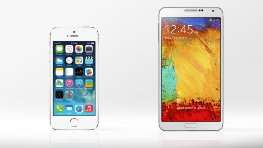 Samsung Galaxy Note 3 vs iPhone 5S