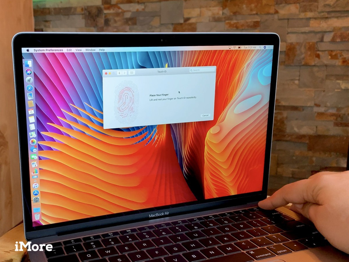 Touch ID MacBook 08