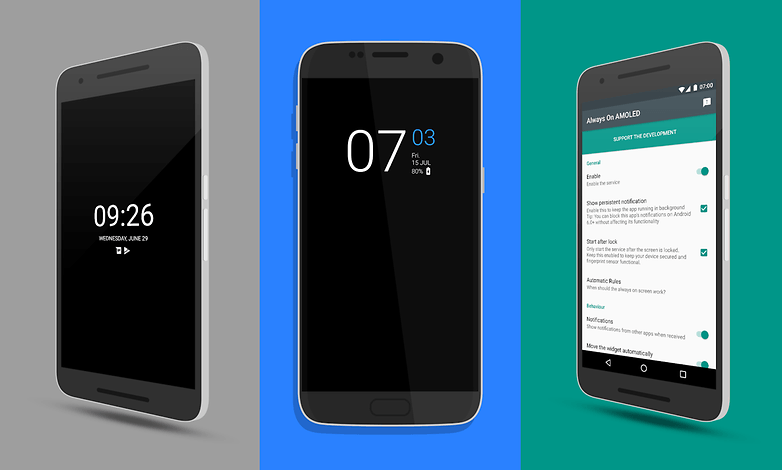 always-on display android