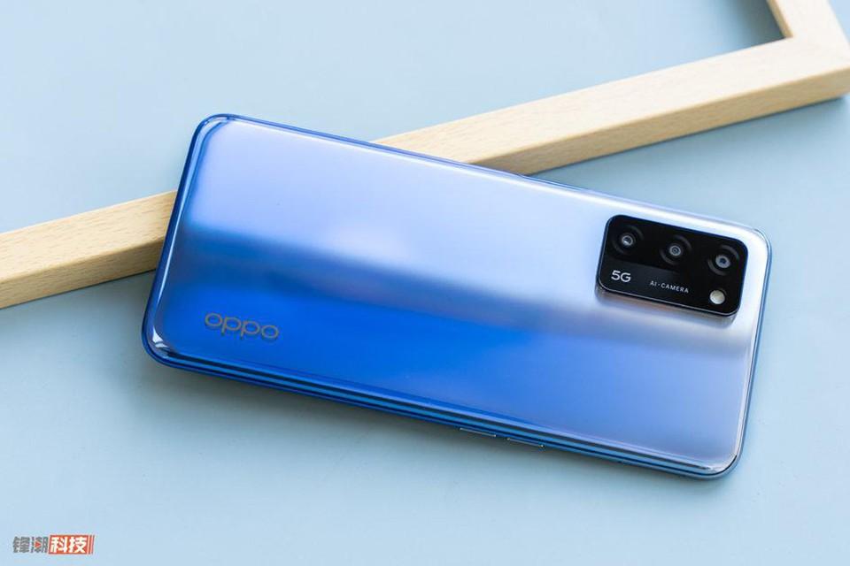 OPPO A55 5G | Thiết kế mặt lưng kính