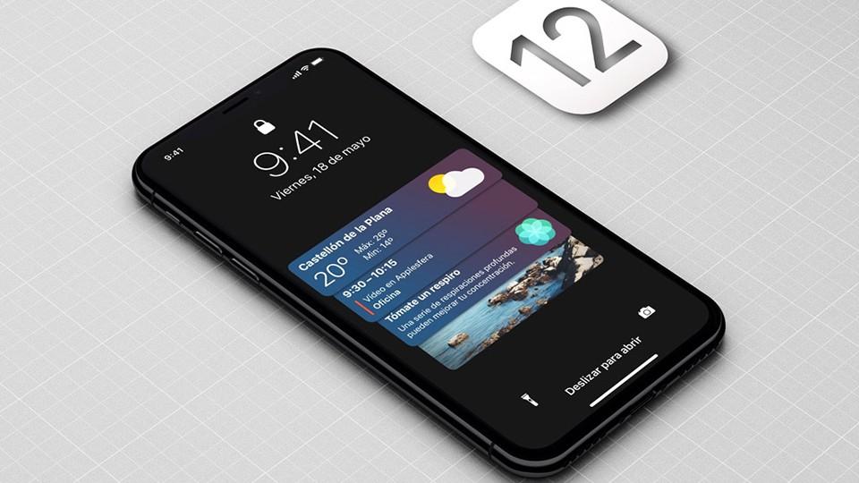 """Hướng dẫn kích hoạt chế độ """"Dark Mode"""" trên iOS 12 (Ảnh 1)"""
