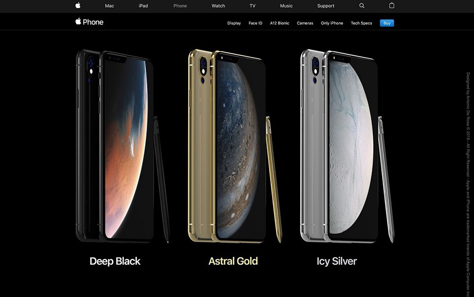 Concept iPhone 2019 03