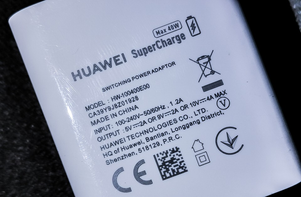 Huawei Mate 20 Pro charger 01