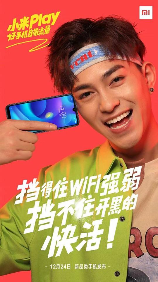 Xiaomi Play lộ ảnh teaser (ảnh 2)