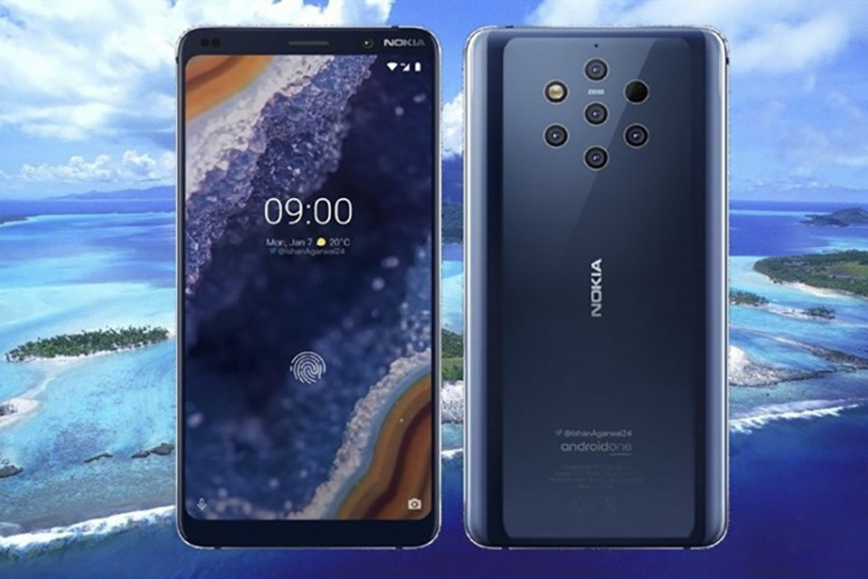 thiết kế Nokia 9 PureView