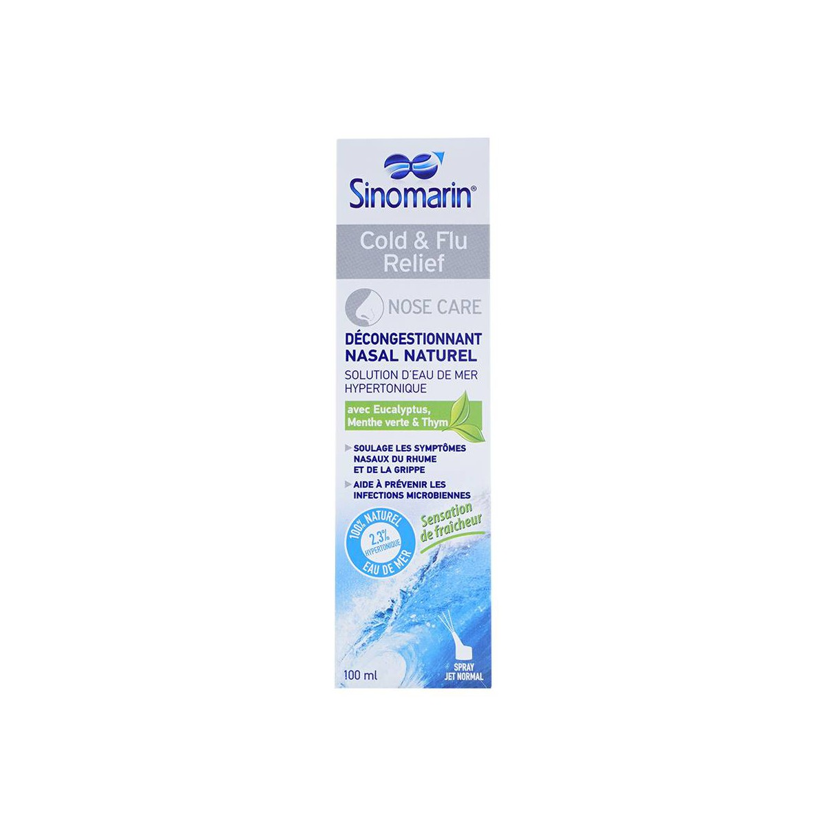 Sinomarin Cold & Flu Relief 100Ml