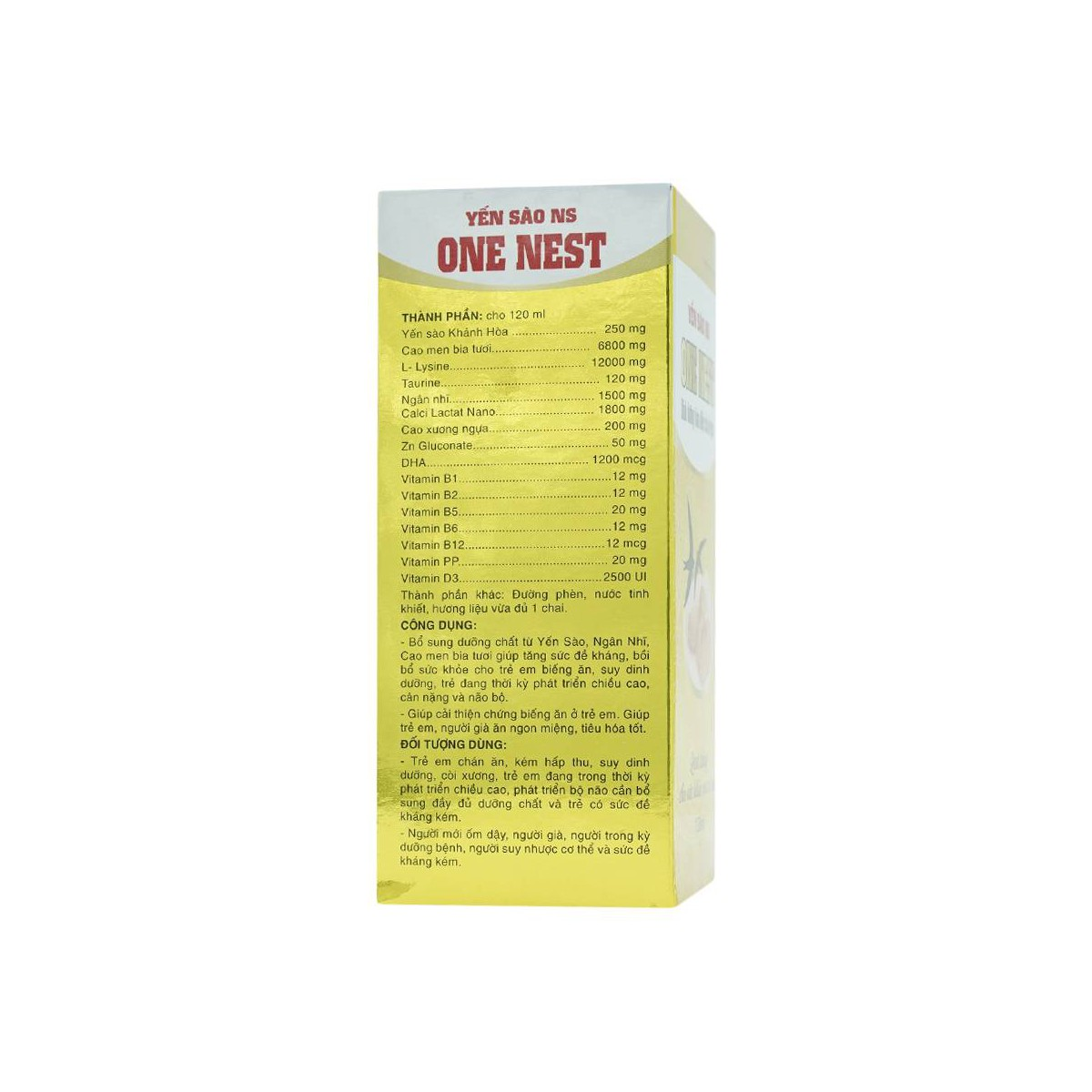 Yến Sào Ns One Nest 120Ml