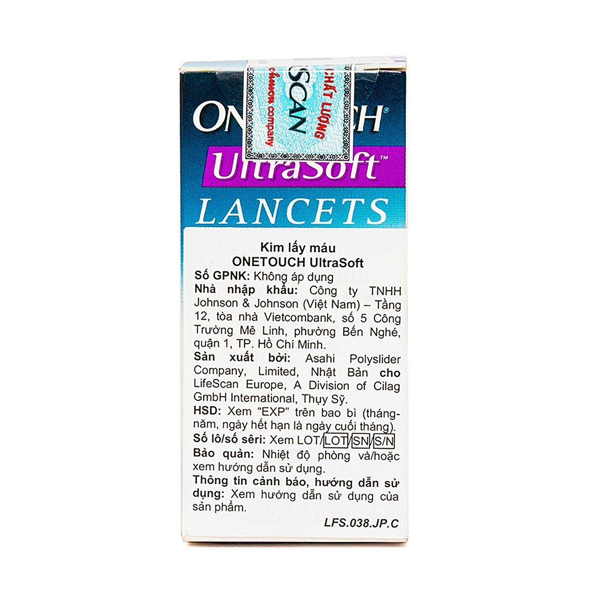 Onetouch Ultra Soft Lancets (25Cây)