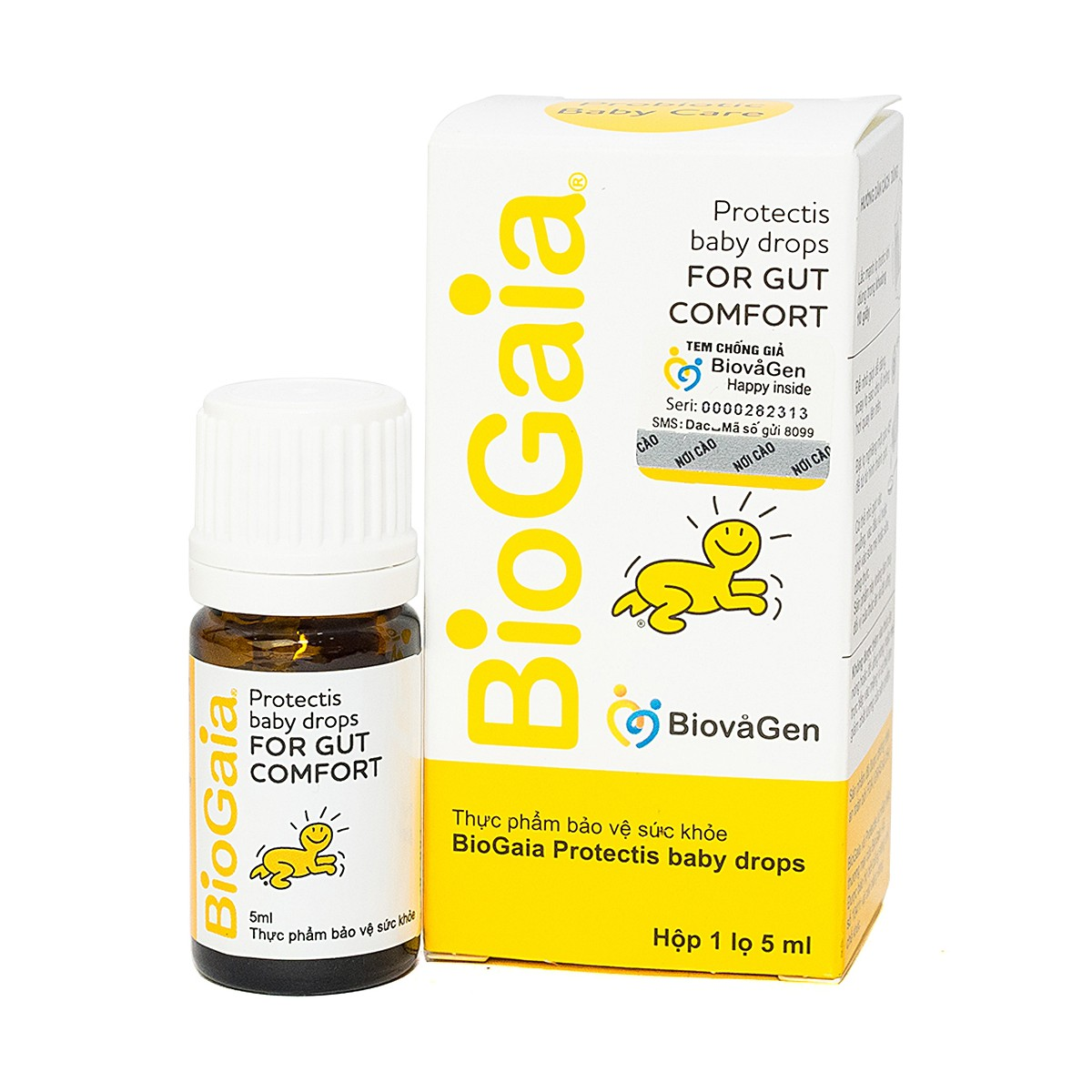 Men Vi Sinh Biogaia Protectis Baby Drops 5Ml