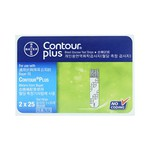 Que Thử Đường Huyết Bayer Contour Plus Blood Glucose Test Strips 2X25