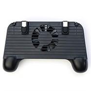 Tay cầm chơi game kèm quạt mini i.value MT-G001 Đen