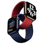 Apple Watch Series 6 GPS + Cellular 44mm viền thép dây thép