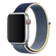 Apple Dây đeo Apple Watch 44mm nylon Alaskan Blue