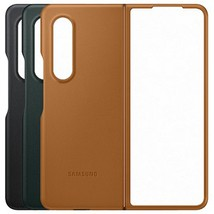 Ốp lưng Samsung Galaxy Z Fold3 Leather Cover
