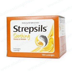 Strepsils Soothing Honey & Lemon 100 Viên