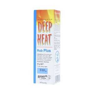 Deep Heat Rub Plus 30G