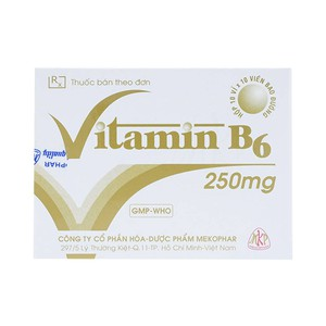 Vitamin B6 250Mg Mekophar