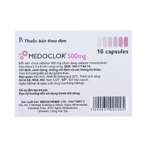 Medoclor 500Mg
