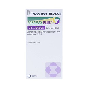 Fosamax Plus 70Mg/5600Iu