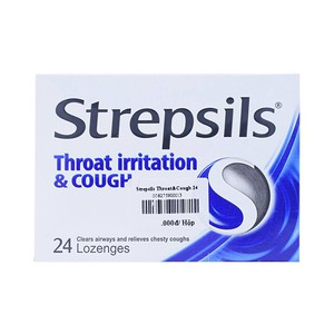 Strepsils Throat Irritation & Cough 24 Viên