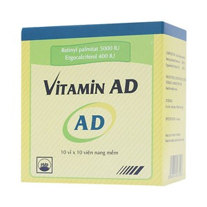 Vitamin Ad 10X10 Pymepharco