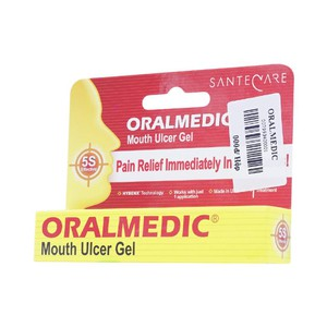 Oralmedic Mouth Ulcer Gel Hộp 1 Vỉ 0.3Ml