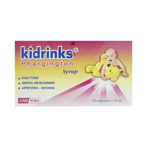 Kidrinks Phargington Syrup Nic 20 Ống X 10 Ml