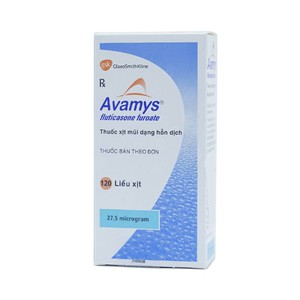 Avamys Spray 27.5Mcg 120 Liều