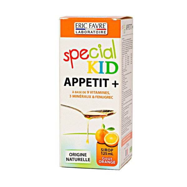 Special Kid Appetit+ Eric Favre Vị Cam 125Ml