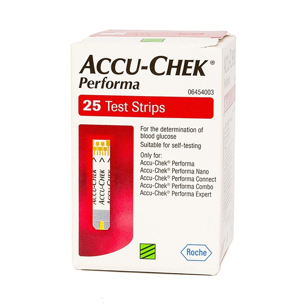 Accucheck Performa 25's