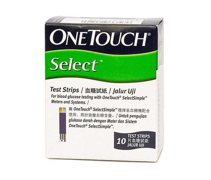 Que thử đường huyết OneTouch Select