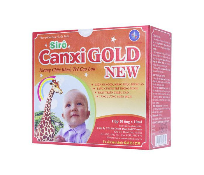 Siro Canxi Gold New Gp France