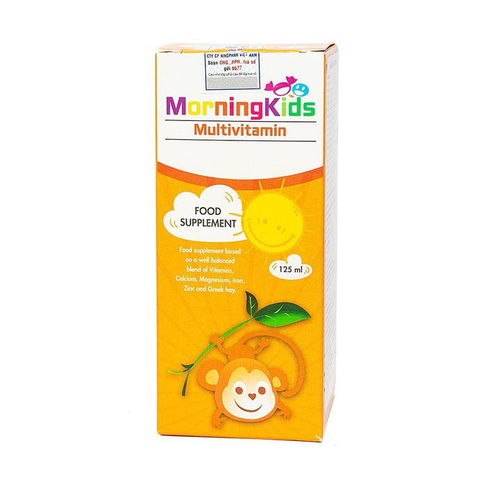 Morningkids Multivitamin 125Ml 2
