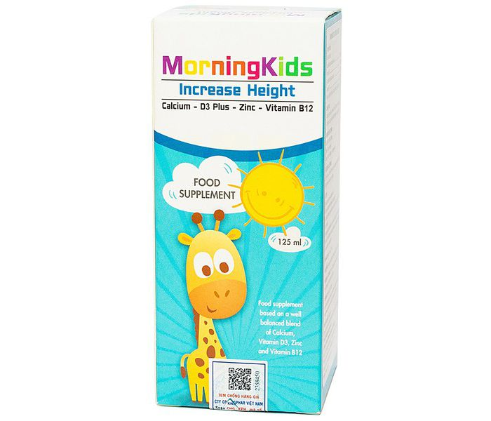 Morningkids Increase Height 125Ml 2