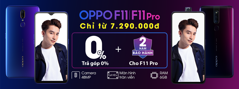 OPPO- IPB - Normal Sale - F11 va F11 Pro - 2019 Apr - H1
