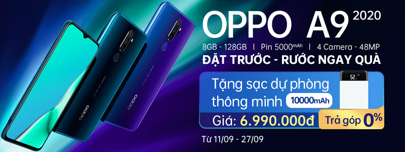 OPPO - IPB - PreOrder - OPPO A9- 2019 Sep - H1
