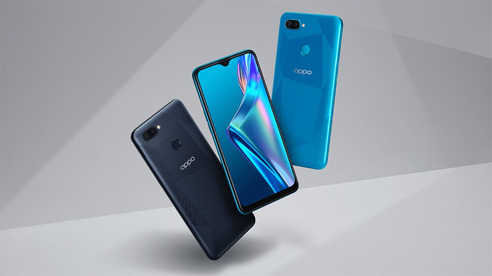 thiết kế OPPO A12