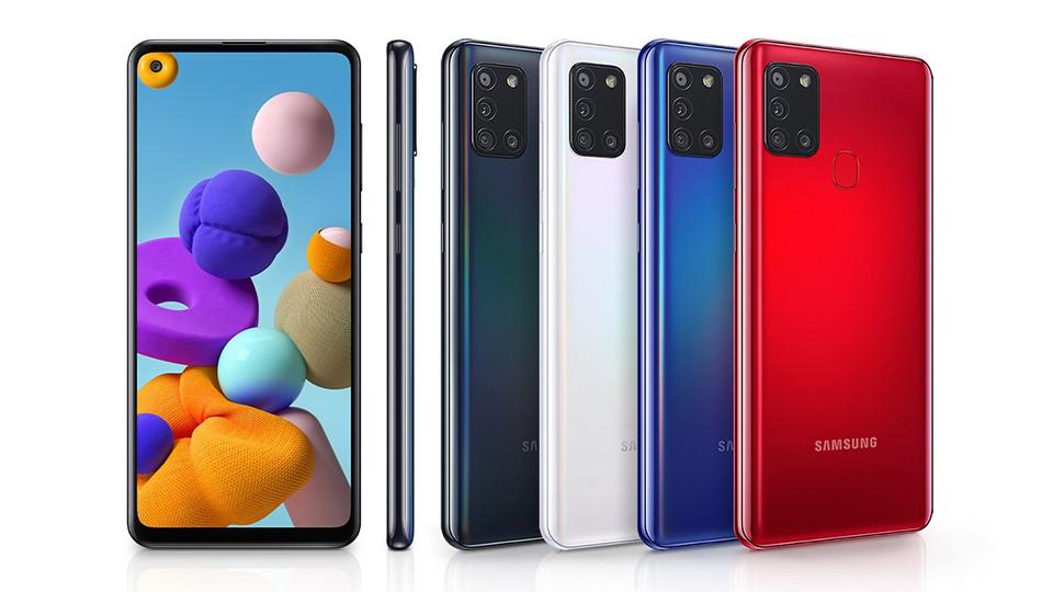thiết kế Samsung Galaxy A21s